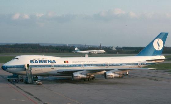 sabena belgian airline...