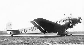 Junkers Ju-52/3m of SABENA Air Lines